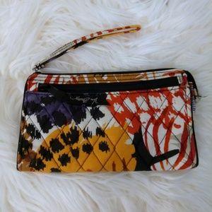 Wristlet wallet Vera Bradley Feathers